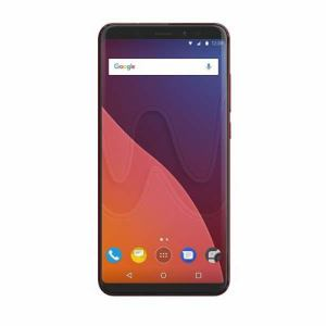 Wiko VIEW-CHERRYRED SIMフリースマートフォン 「View」 5.7インチ Android 7.1搭載 メモリ/3GB 32GB チェリーレッド
