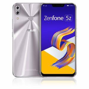 ASUS ZS620KL-SL128S6 SIMフリースマートフォン Zenfone 5Z 128GB スペースシルバー