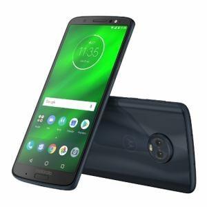 モトローラ PAAT0026JP Android 8.0搭載 メモリ/ストレージ:4GB/64GB SIMフリースマートフォン 「Moto G6 PLUS」 ディープインディゴ