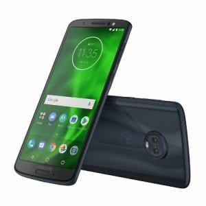 モトローラ PAAG0028JP Android 8.0搭載 メモリ/ストレージ:3GB/32GB SIMフリースマートフォン 「Moto G6」 ディープインディゴ