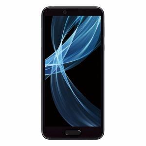 シャープ SH-M07-B SIMフリースマートフォン 5.5インチ メモリ/ストレージ:3GB/32GB 「AQUOS sense plus」 ブラック