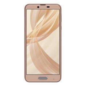 シャープ SH-M07-C SIMフリースマートフォン 5.5インチ メモリ/ストレージ:3GB/32GB 「AQUOS sense plus」 ベージュ