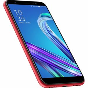 ASUS ZB555KL-RD32S3 SIMフリースマートフォン 「Zenfone Max M1 Series」 5.5インチ/メモリ 3GB/ストレージ 32GB ルビーレッド