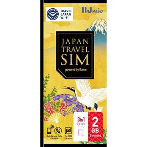 IIJ IM-B250 Japan Travel SIM 2GB(Type D) マルチSIM