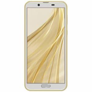 シャープ SH-M08Y SIMフリースマートフォン AQUOS sense2 5.5型 メモリ/ストレージ:3GB/32GB アッシュイエロー
