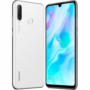 Huawei(ファーウェイ)  P30 lite/Pearl White/51093NRV