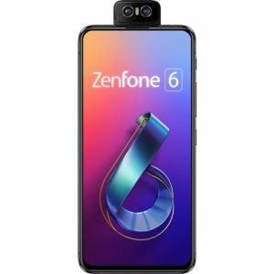 ASUS ZS630KL-BK128S6 SIMフリースマートフォン ZenFone 6 ミッドナイトブラック
