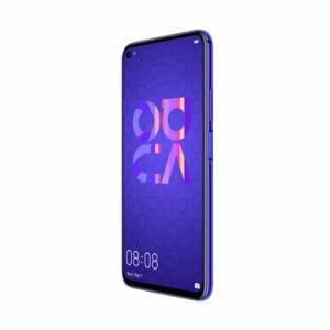 HUAWEI(ファーウェイ)nova 5T/Midsummer Purple 画面占有率約91.7%のフルビューディスプレイ HUAWEI Kirin 980搭載 3,750Ahmの大容量バッテリー