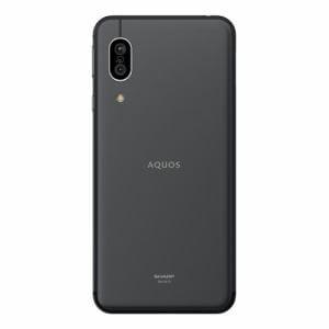シャープ SH-M12B AQUOS sense3 ブラック SIMフリースマートフォン