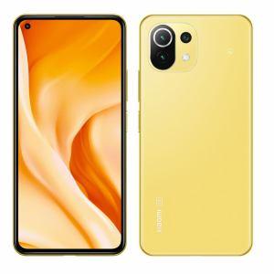 Xiaomi シャオミ Mi 11 Lite 5G Citrus Yellow シトラスイエロー 128GB 6400万画素トリプルカメラ FeliCa/おサイフケータイ対応