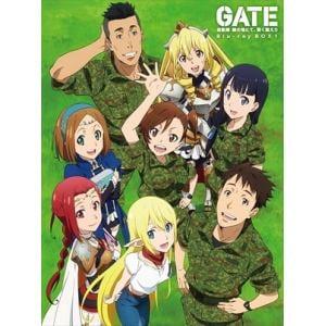 <BLU-R> GATE 自衛隊 彼の地にて、斯く戦えり Blu-ray BOX 1(初回仕様版)