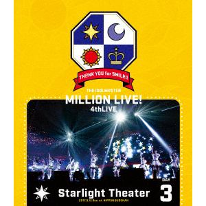 <BLU-R> THE IDOLM@STER MILLION LIVE! 4thLIVE TH@NK YOU for SMILE! LIVE Blu-ray DAY3