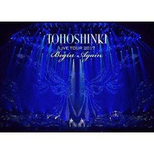 <DVD> 東方神起 / 東方神起 LIVE TOUR 2017 ~Begin Again~(初回生産限定盤)