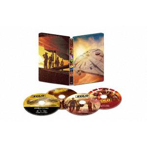【4K ULTRA HD】ハン・ソロ/スター・ウォーズ・ストーリー 4K UHD MovieNEX スチールブック(数量限定商品)
