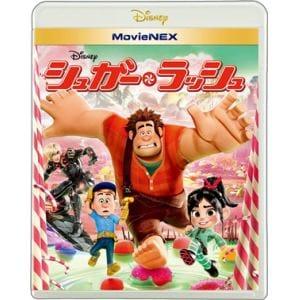 <BLU-R> シュガー・ラッシュ MovieNEX ブルーレイ+DVDセット
