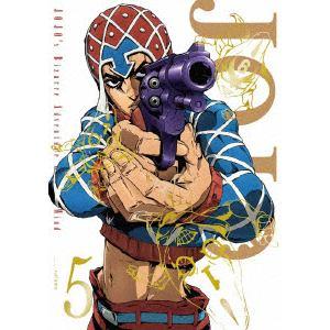 <BLU-R> ジョジョの奇妙な冒険 黄金の風 Vol.5(初回仕様版)