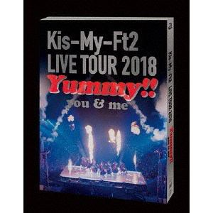 【DVD】 Kis-My-Ft2 / LIVE TOUR 2018 Yummy!! you&me