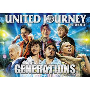 <DVD> GENERATIONS from EXILE TRIBE / GENERATIONS LIVE TOUR 2018 UNITED JOURNEY(初回生産限定盤)
