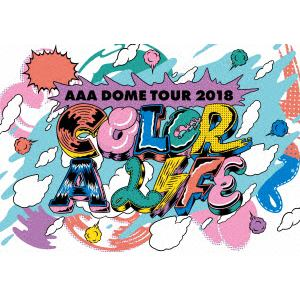 <DVD> AAA / AAA DOME TOUR 2018 COLOR A LIFE
