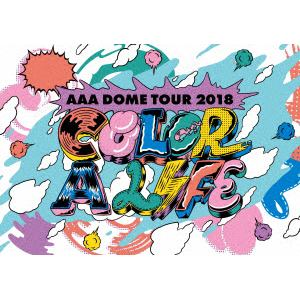 <DVD> AAA / AAA DOME TOUR 2018 COLOR A LIFE(初回生産限定盤)