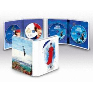 【BLU-R】 メリー・ポピンズ:2ムービー・コレクション ブルーレイ+DVDセット(数量限定商品)
