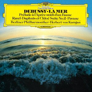 <CD> カラヤン / ドビュッシー:交響詩《海》、牧神の午後への前奏曲/ラヴェル:亡き王女のためのパヴァーヌ、他