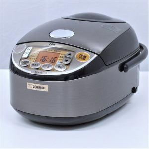 象印 NPVD10 IH炊飯器 リユース(中古)品  グレー