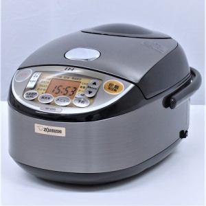 象印 NPVD10 IH炊飯器 リユース(中古)品  ブラウン