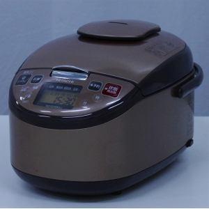 日立 RZSD10KSJ IH炊飯器 リユース(中古)品 5.5 ライトブラウン