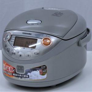東芝 RC6XF IH炊飯器 リユース(中古)品 3.5 シルバー