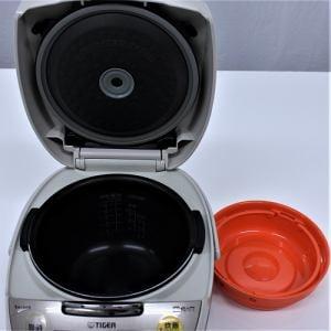 タイガー JKTV100 IH炊飯器 リユース(中古)品 5.5G ベージュステンレス
