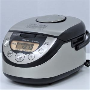 日立 RZXS10M IH炊飯器 リユース(中古)品  シルバー
