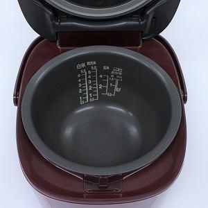 東芝 RC10VRG IH炊飯器 リユース(中古)品  グランレッド