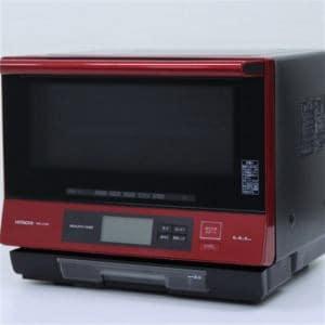 日立 MROJV300 オーブンレンジ リユース(中古)品  レッド