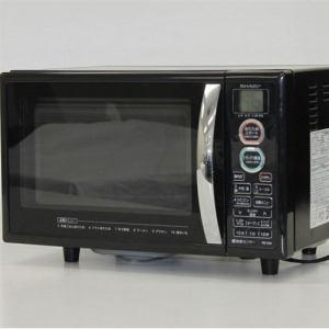 シャープ RES5E オーブンレンジ リユース(中古)品  ブラック