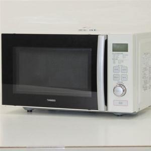 ツインバード DRD257 単機能電子レンジ リユース(中古)品  ホワイト