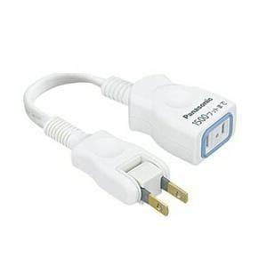 パナソニック 延長コード 10cm ホワイト WHA49101WP