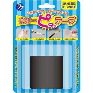 ムサシ のび?ピタッテープ ブラック MTTPBK