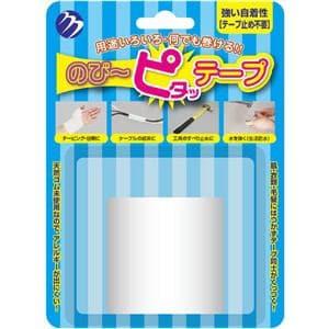 ムサシ のび~ピタッテープ ホワイト MTTPWH