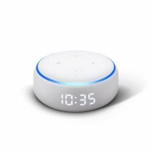 Amazon B07NQ8Y8FZ Echo Dot (エコードット)第3世代 スマートスピーカー時計付き with Alexa サンドストーン
