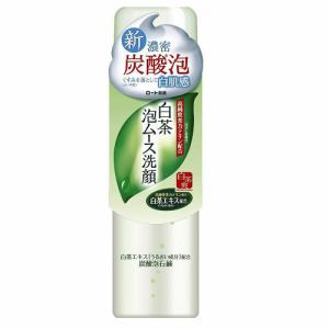 ロート製薬(ROHTO) 白茶爽 白茶泡ムース洗顔 (150g)