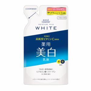 コーセーコスメポート(KOSE COSMEPORT) モイスチュアマイルド (MOISTURE MILD WHITE) ホワイト ミルキィローション b つめかえ用 (125mL)