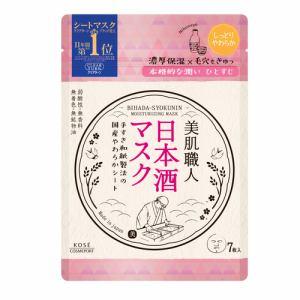 コーセーコスメポート(KOSE COSMEPORT) クリアターン (CLEAR TURN) 美肌職人 日本酒マスク (7枚)