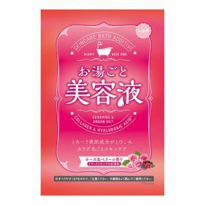 バイソン お湯ごと美容液ローズ&ベリー (60g)