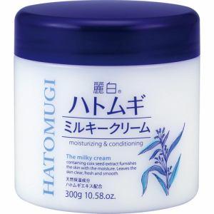 熊野油脂 麗白 ハトムギミルキークリーム (300g)