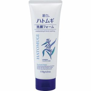熊野油脂 麗白 ハトムギ洗顔フォーム (170g)