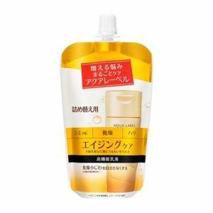 資生堂(SHISEIDO) アクアレーベル (AQUA LABEL) バウンシングケア ミルク (詰め替え用) (117mL) 【医薬部外品】