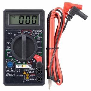 オーム電機 TST-D10B デジタルテスター