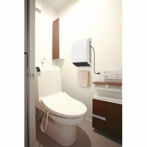 スリーアップ CHT1639/WH 人感センサー付き壁掛け式脱衣所専用ヒーター ポカポカ暖ヒート ホワイト