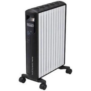 デロンギ MDH15WIFI-SET マルチダイナミックヒーター Wi-Fiモデル+Apple TV(~10畳) ピュアホワイト+マットブラック